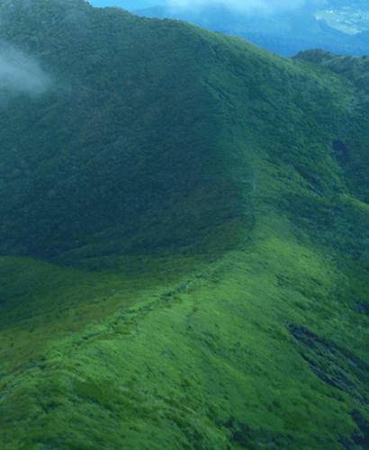 高千穂峰稜線