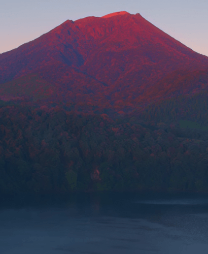 高千穂峰朝焼け