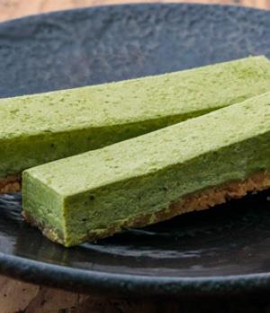 緑茶の生チョコバー